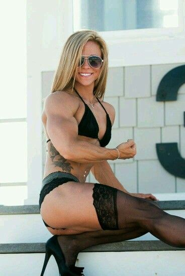 Something is. Hot sexy muscle women assured, what