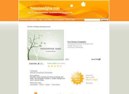 Sitio para descargar plantillas power point plantillas Pinterest