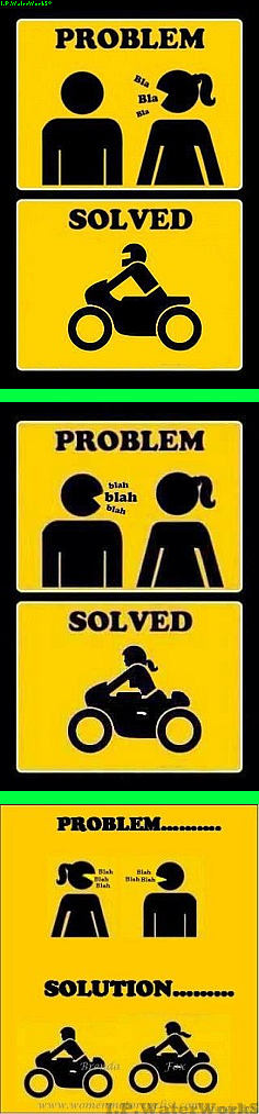 Problems and solutions motorcycle girls pinterest problem and solution sciox Image collections