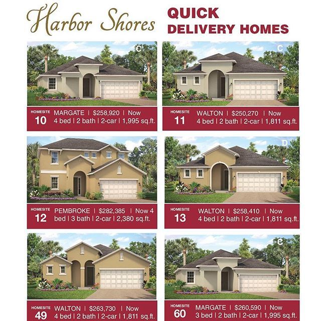 New Homes Available In Kissimmee FL! Start 2018 With A New