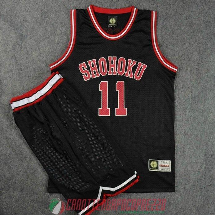 Camiseta Slam Dunk Shohoku Negro Mitsui  14 €21.9  06992f463b35
