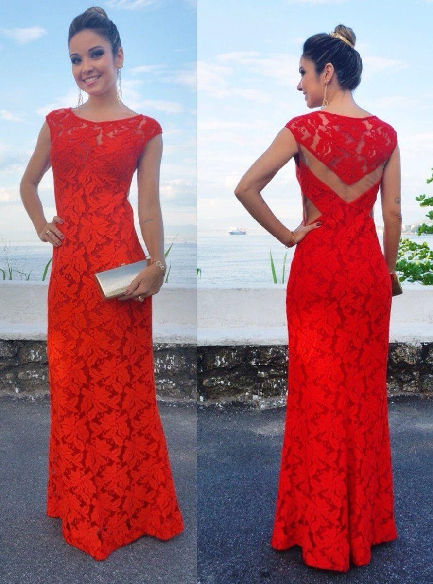 36ff3d2e4 Vestidos de festa longos cor laranja | festa | Dresses, Bridesmaid dresses  e Fashion dresses