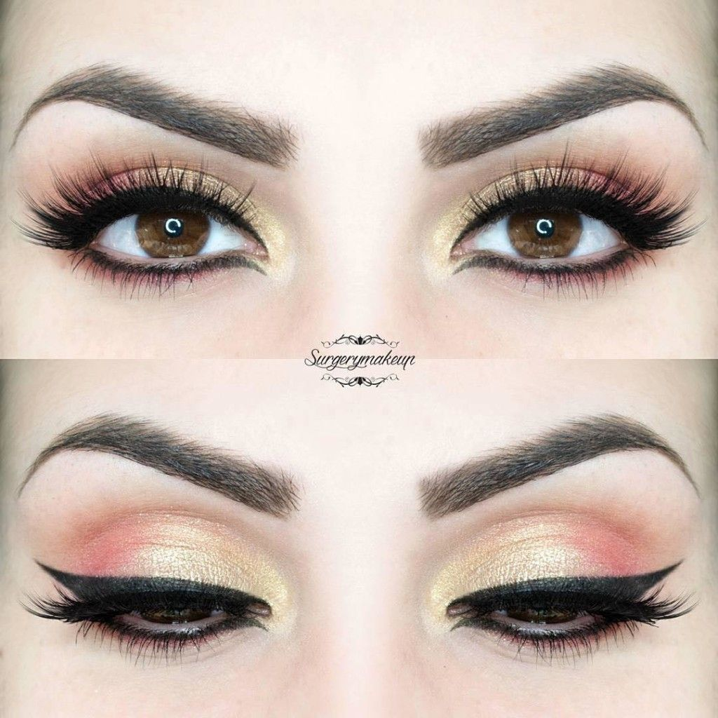 34 Makeup Tutorials For Small Eyes The Goddess - HD1024×1024