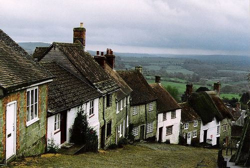 Gold hill, England.