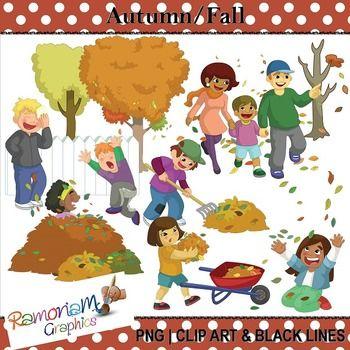 Fall - Autumn Fun Clip art   Clip art, Fall clip art, Art