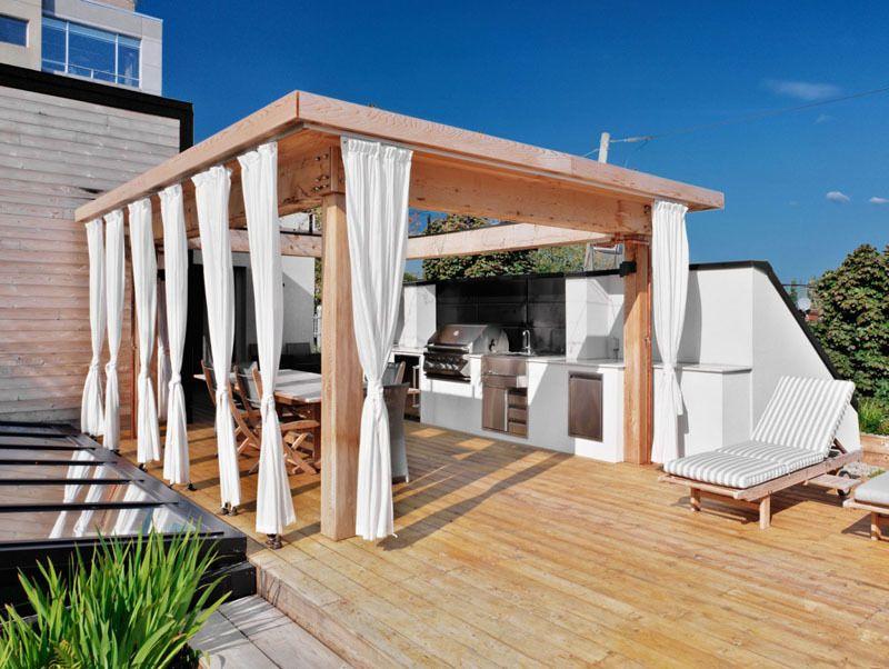 Wohnung Mit Dachterrasse Sonnenschutz Ist Ein Muss Garten