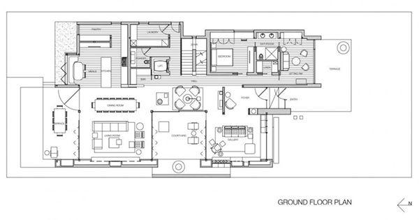 b95941a48d30ed0cb14c8f3dca5f9523 stylish australian house made of rectangular blocks connecting,Basic Rectangular House Plans