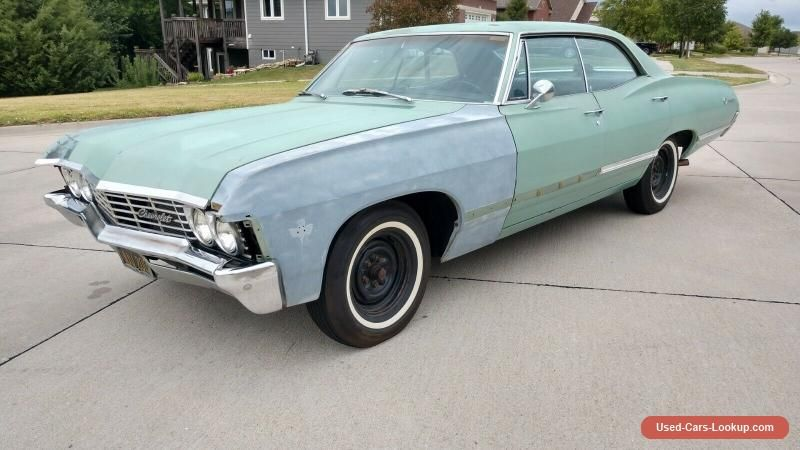 Car For Sale 1967 Chevrolet Impala Sport Sedan