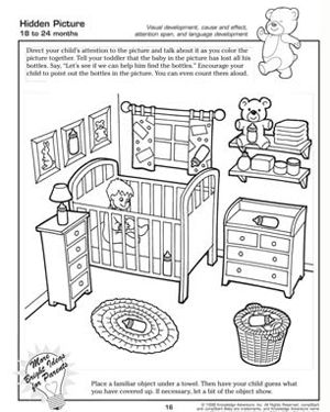 Hidden Picture Free Worksheet For Kids Hidden Pictures Hidden