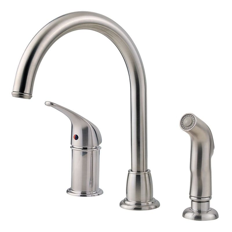 Pfister Lf Wk1 680 Cagney Kitchen Faucet Includes Hand Sprayer