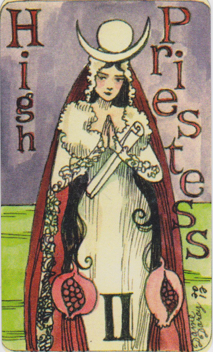Tarot D The Didactic Tarot By Jeffrey M Donato: The High Priestess. Major