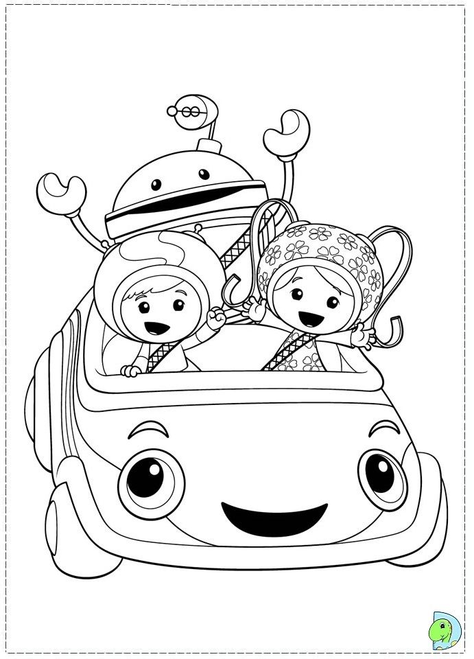 team umizoomi Colouring Pages (page 2) | Children Coloring ...