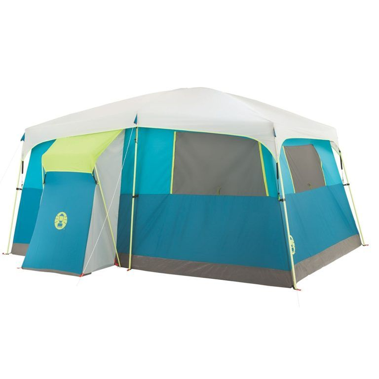 Biggest Tent On The Planet 170 At Costco 10 Person 9x17 Footprint Hinged Door 10 Person Tent Tent Best Tents For Camping