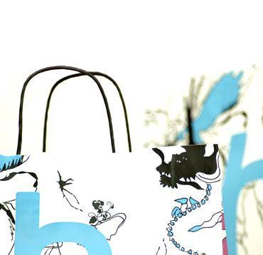 Poser med dekoration til B-Young / grafik: anetmai.com Udarbejdet af grafisk designer Anne Mark Møller