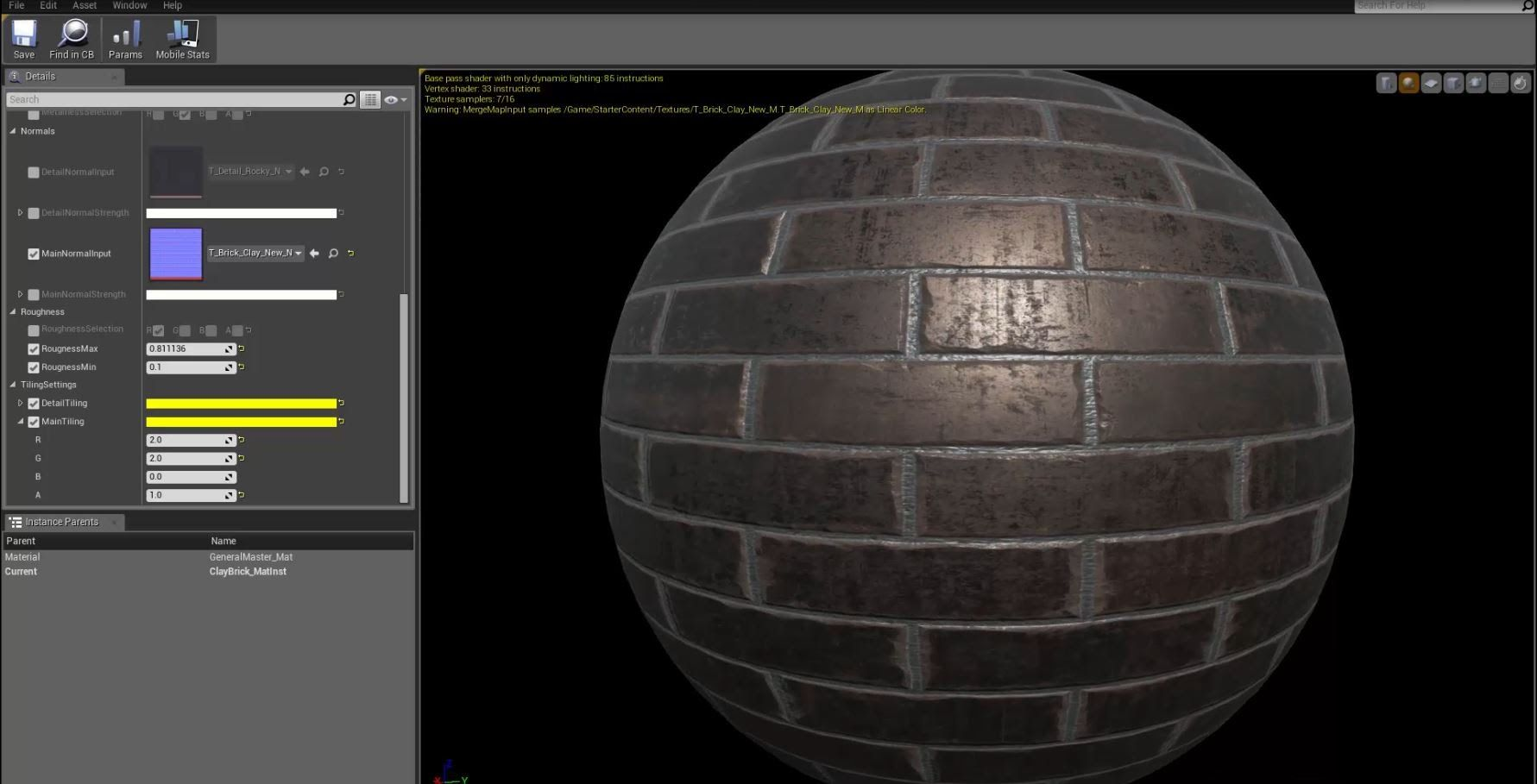 Master Materials And Material Instances Unreal Engine Material