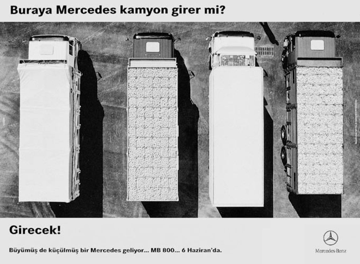 Read more: https://www.luerzersarchive.com/en/magazine/print-detail/mercedes-benz-5396.html Mercedes-Benz Teaser: Would there enough parking space for another Mercedes Truck? There will be! As of June 6 - the precocious Mercedes. Tags: Mercedes-Benz,3. Kusak, Istanbul,Dogan Yarici,Neil Barstow,Murat Yilmaz