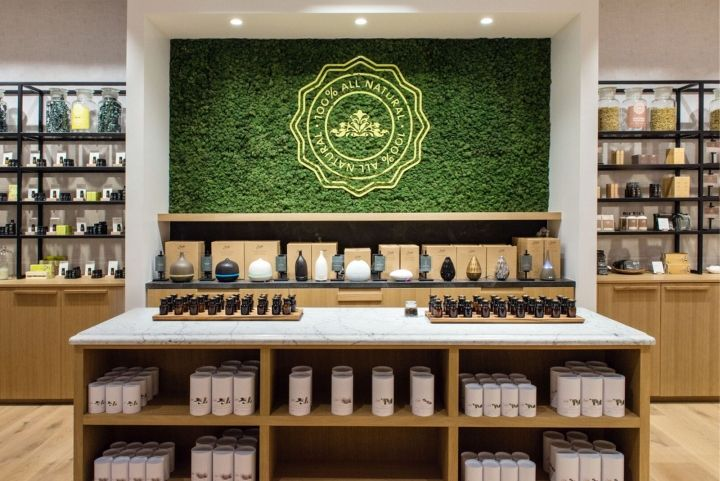 Saje Natural Wellness By Jennifer Dunn Design, Halifax / Nova Scotia U2013  Canada » Retail