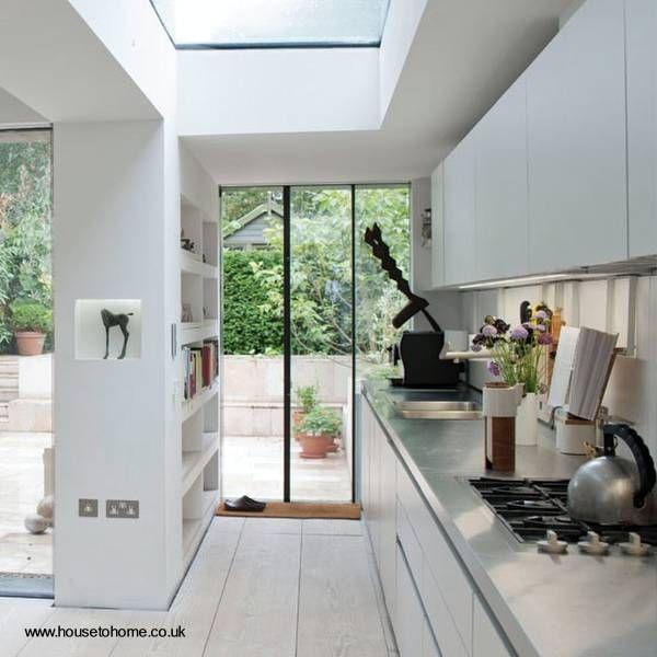 Diseño de cocina contemporánea luminosa | Cocinas | Pinterest ...