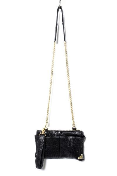 """For carrying your cash or you snacks. Whatever floats your boat. Either way, heads will certainly turn when you rock this super chic messenger bag. 9""""L x 5""""H Sm"""