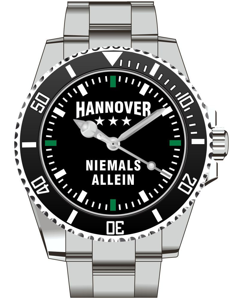 Hannover - Niemals Allein - Herren Armbanduhr 2360 von UHR63 auf Etsy