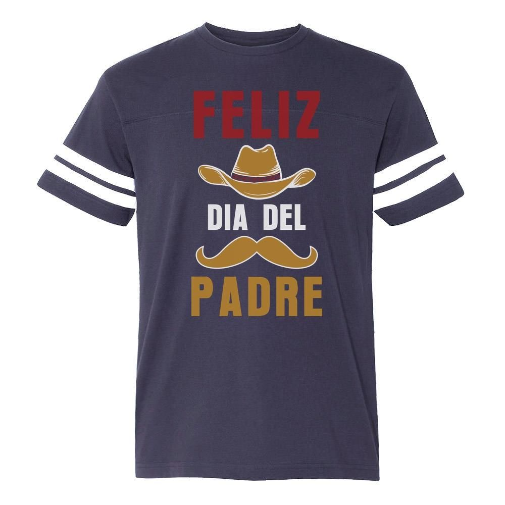 Feliz Dia Del Padre Football Jersey T-Shirt