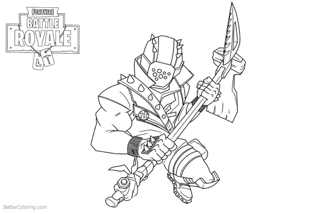 Coloriage Fortnite Graffeuse.Rook Fortnite Girl Coloring Pages Printable