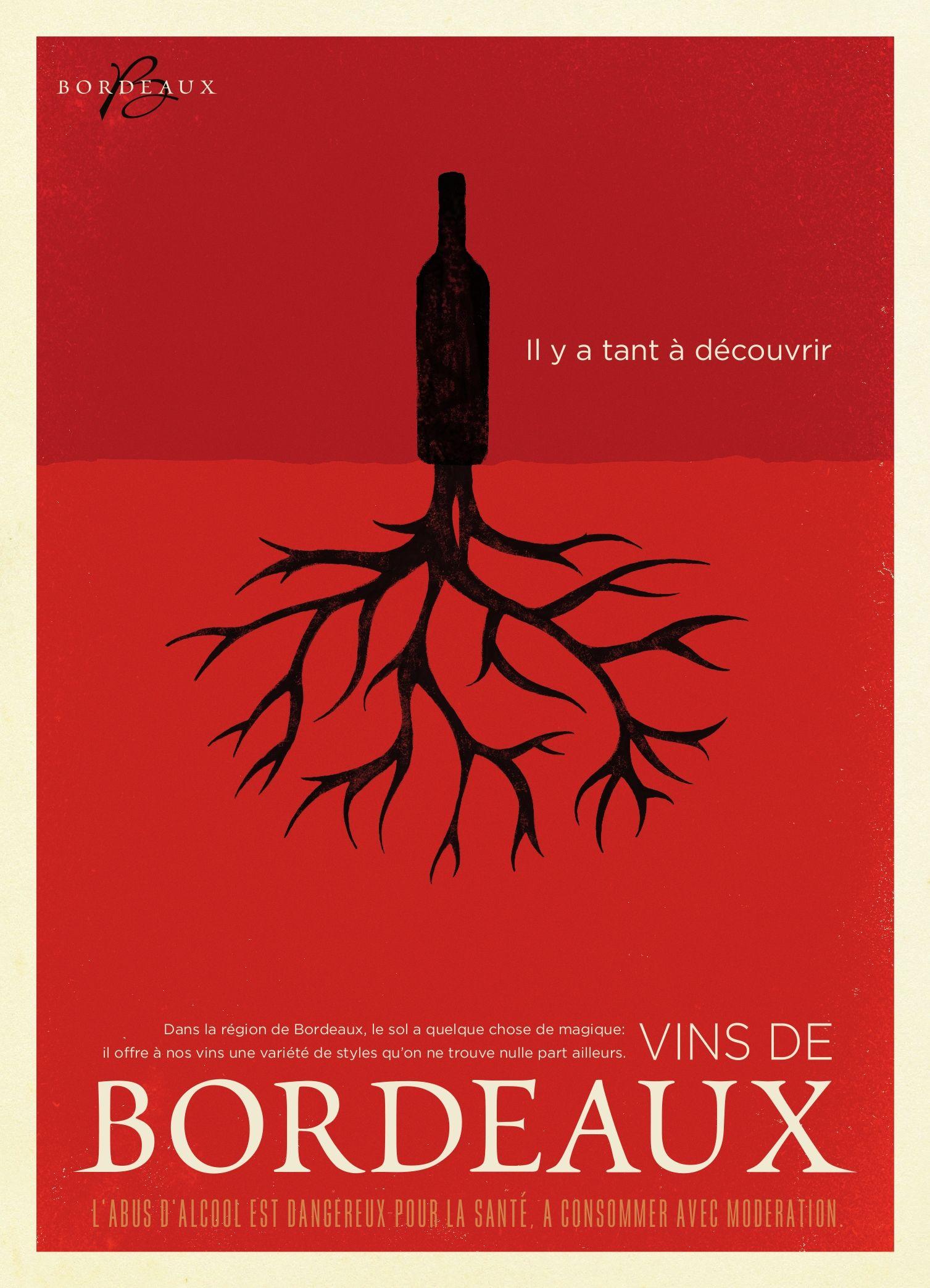 Vin De Bordeaux Wine Advertising Wine Poster Drinking Wine Photography