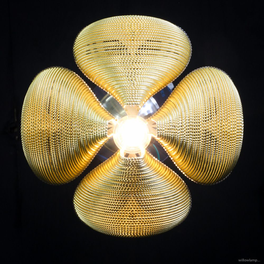 nature inspired lighting. Willowlamp, Contemporary Pendant Lamp, Bespoke Lighting, Sculptural Love Clover Hanging Lamp Nature Inspired Lighting