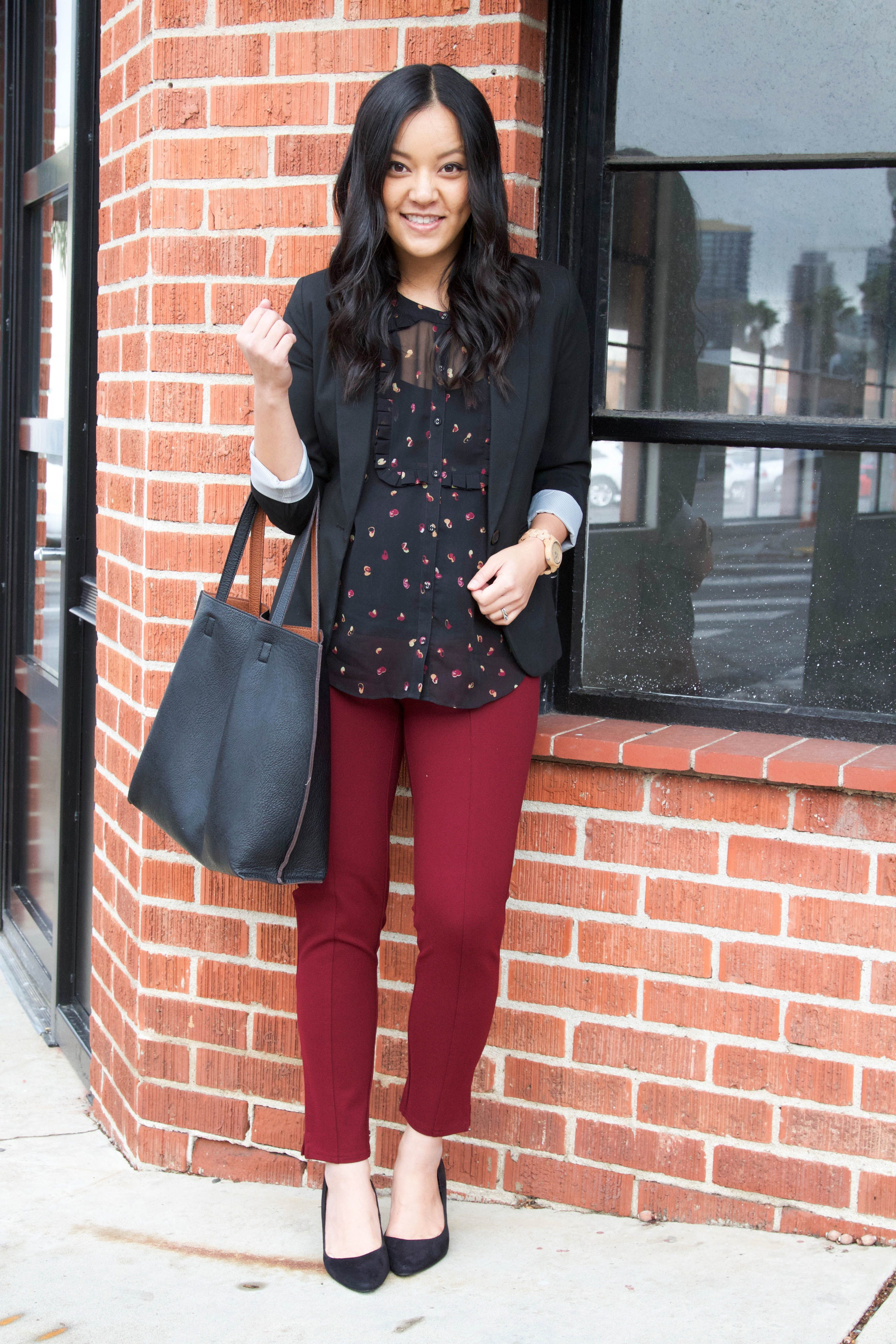 Zwangerschapskleding Tips.4 Tips For Finding And Styling Tops For Business Casual And Play
