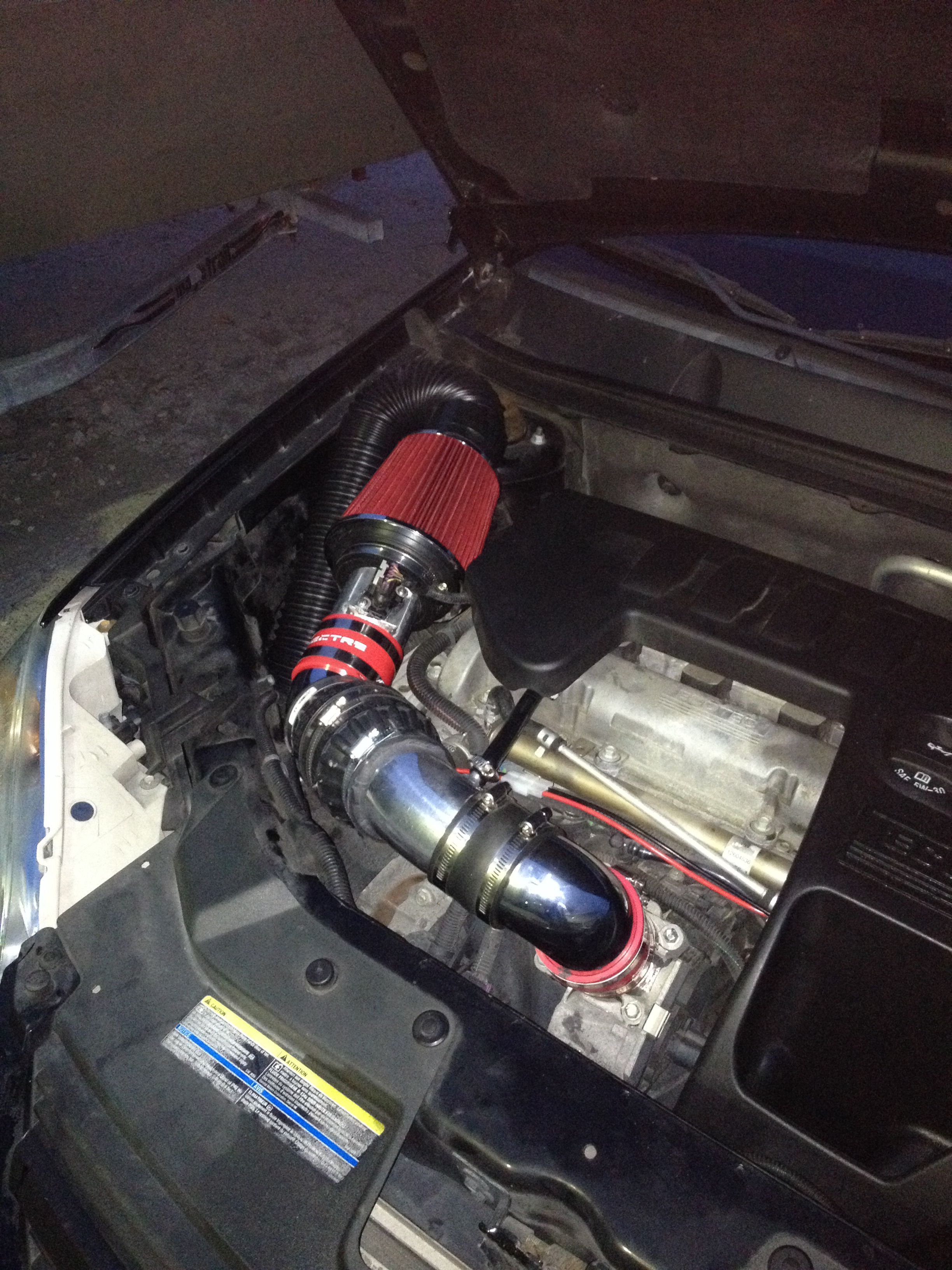 Electric Supercharged Cold Air Intake For My 2007 Chevy Cobalt Ls