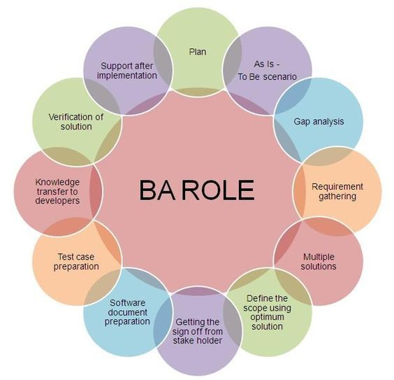 Major Roles And Responsibilities Of The Business Analyst