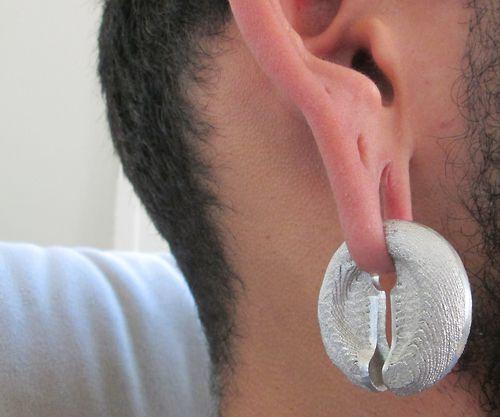 Ear weights Textured