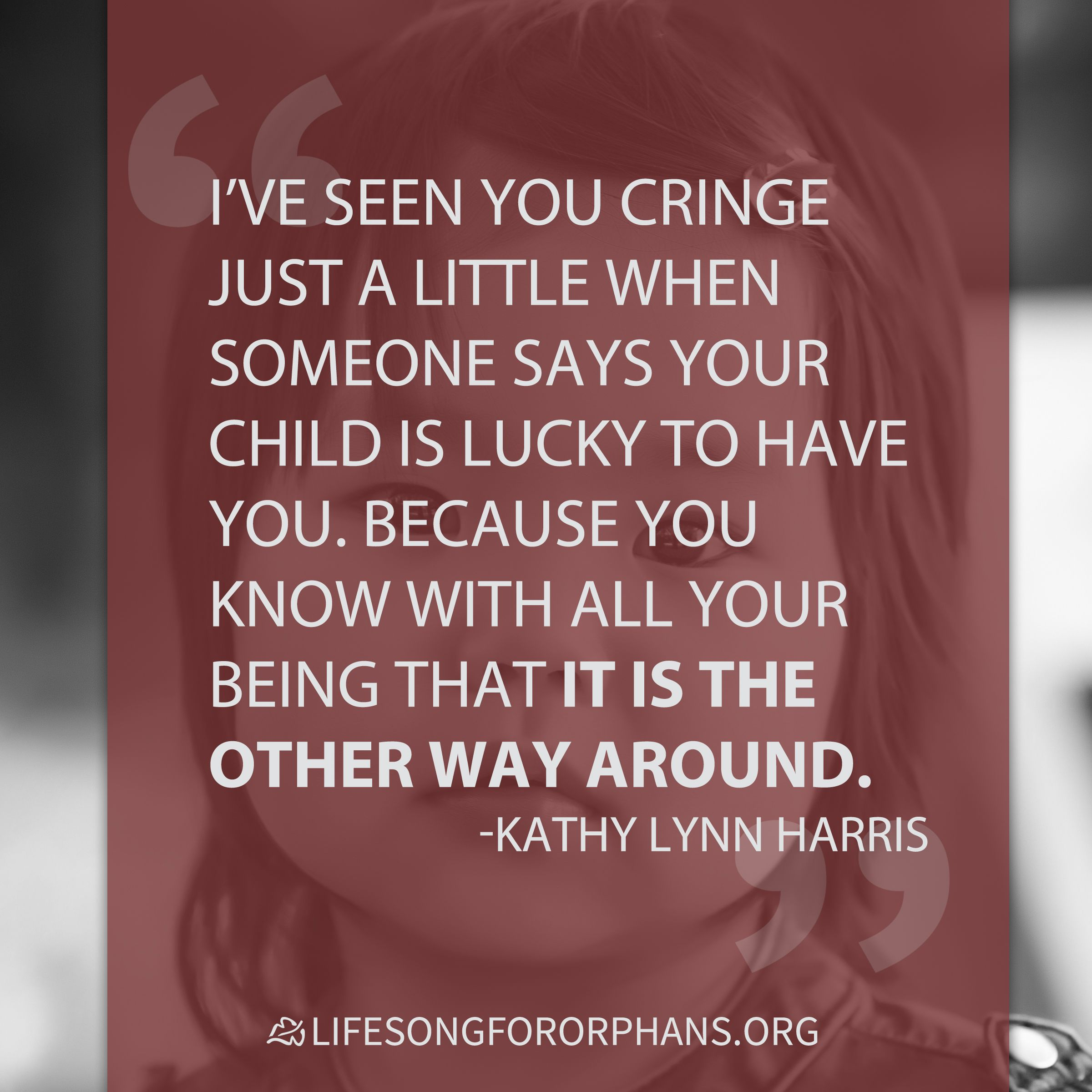 Foster Care Quotes I've Seen You Cringe Just A Little When Someone Says Your Child Is