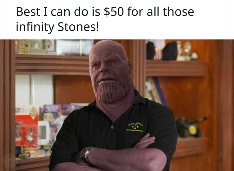 093cd4326 Thanos Gets The Meme Treatment After The Release Of The  #AvengersInfinityWar Trailer