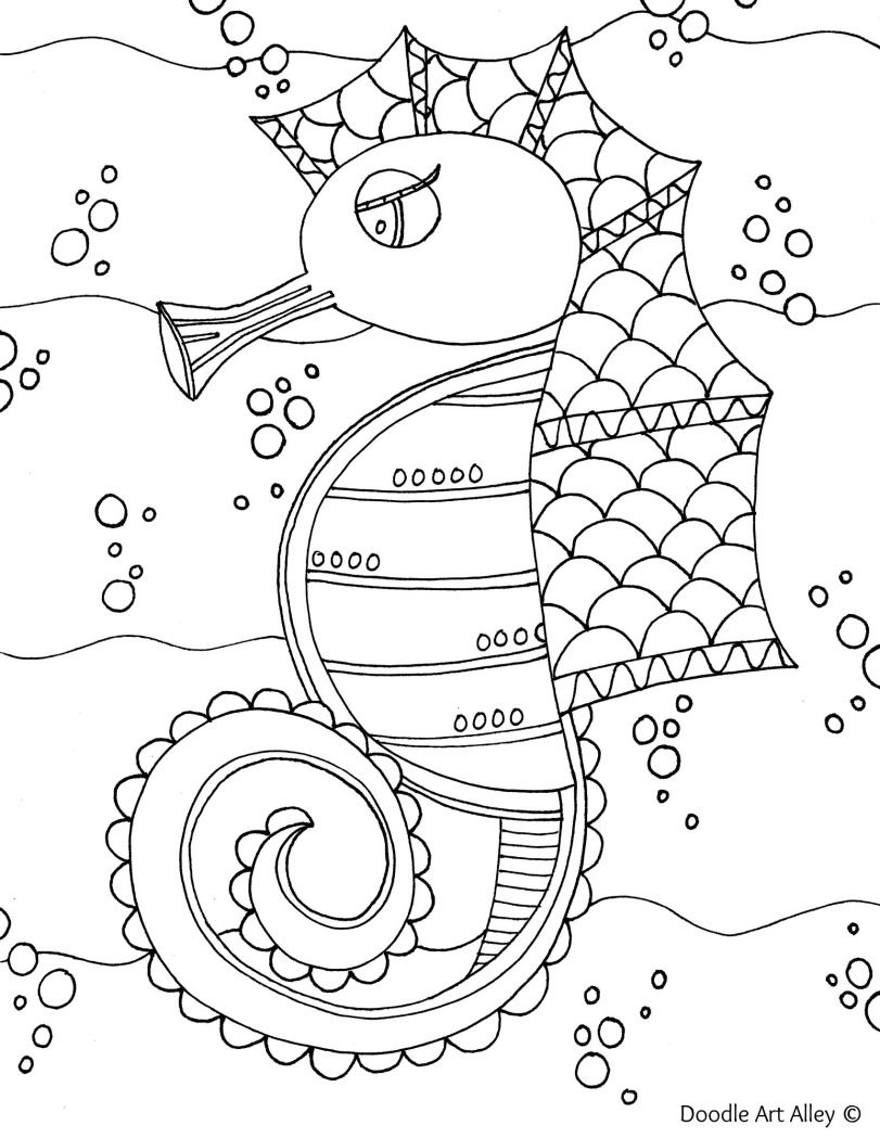 Seahorse Jpg Animal Coloring Pages Coloring Pages Cute Coloring Pages