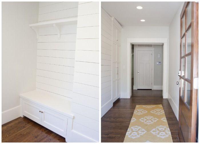 Blog Tiek Built Homes Part 2 Home Shiplap Built In Bookcase