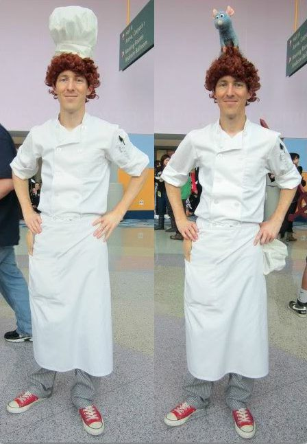 Diy Ratatouille Costume Disney Costumes Diy Red Head Halloween Costumes Cheap Halloween Costumes