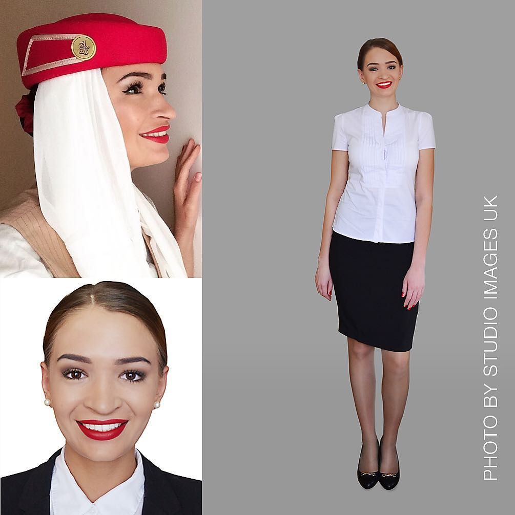 Beauty retouching for EK cabin crew and transfers to light