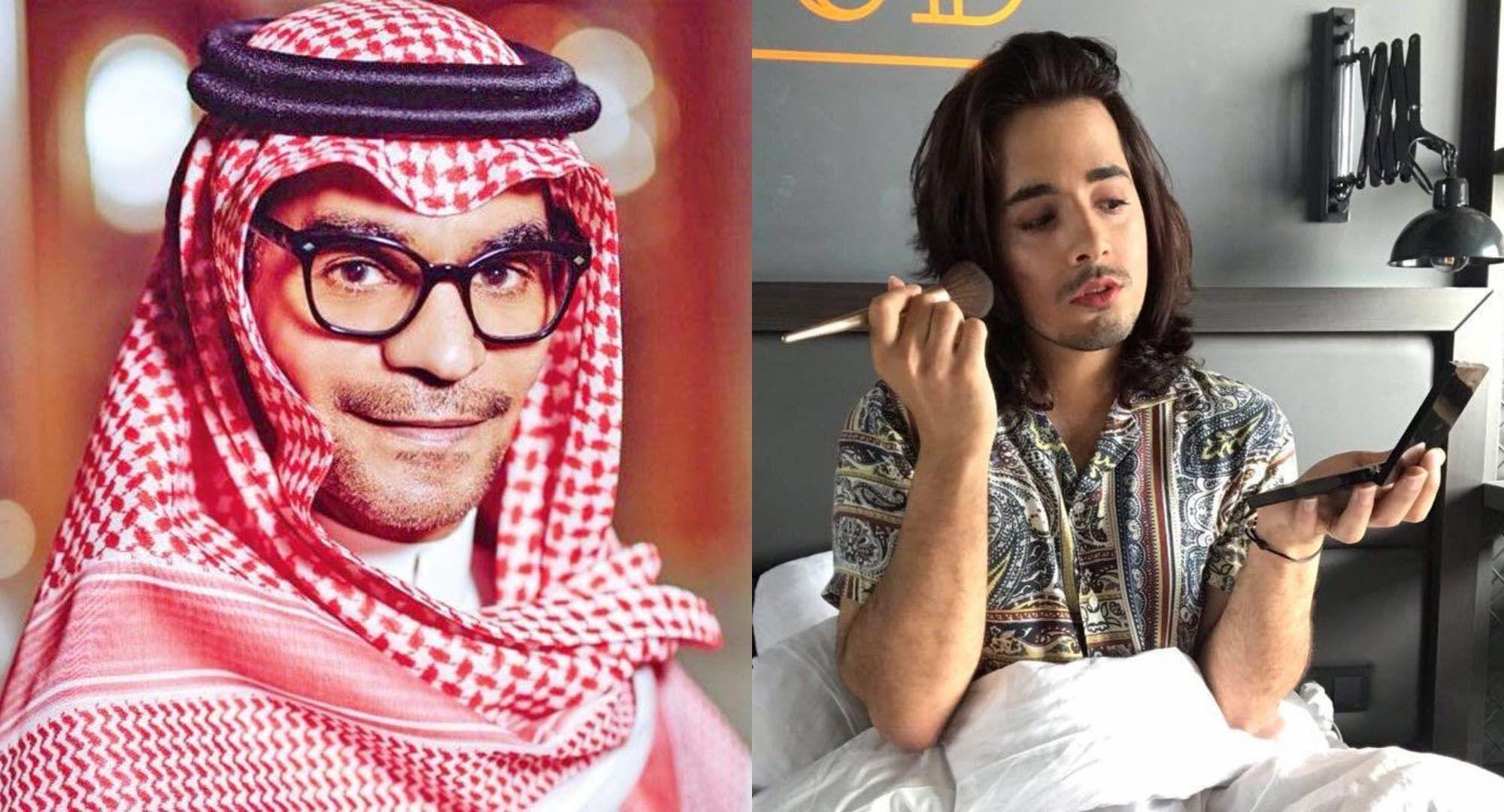 رابح صقر يحظر بدر خلف عبر حسابه في تويتر والأخير يرد عليه Fashion Hijab
