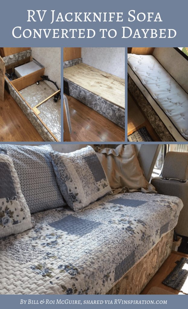 Rv Sofa Bed Replacement Ideas W