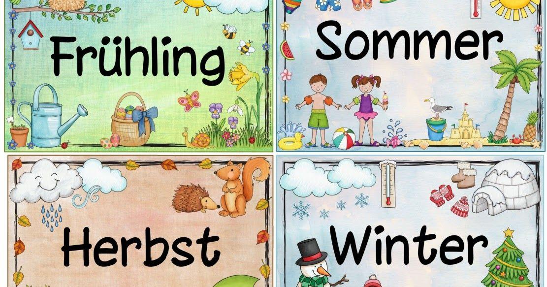 Jahreszeitenplakate Am Wochenende Erreichten Mich Mehrere Bitten Um