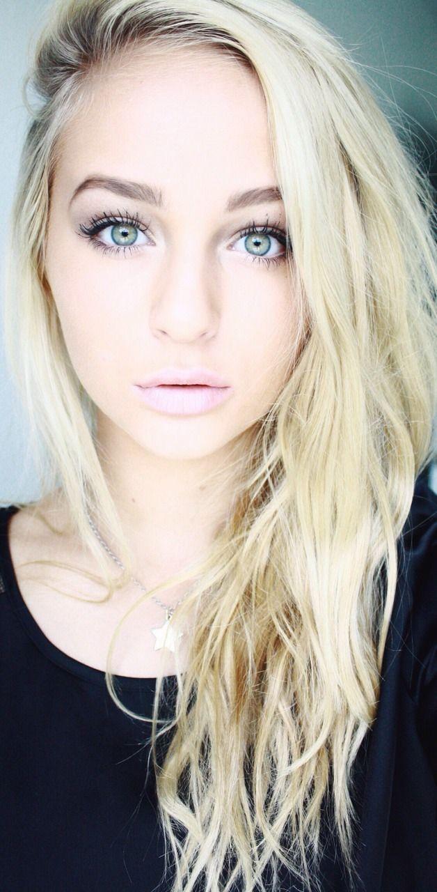 Blonde hair pale green eyes - Pretty Blonde Shade For Fair Skin Tones