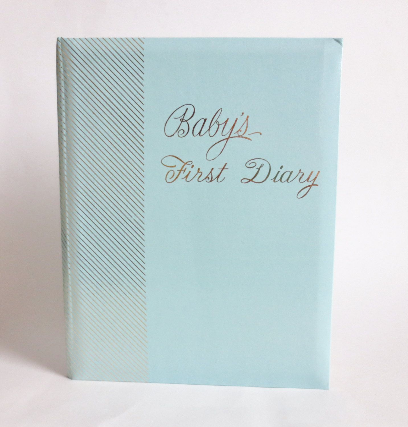 Vintage Baby Record Book Babys First Diary Babys First Years
