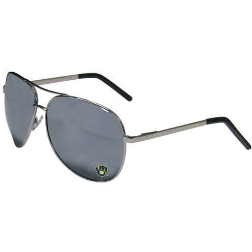 Milwaukee Brewers MLB Aviator Sunglasses