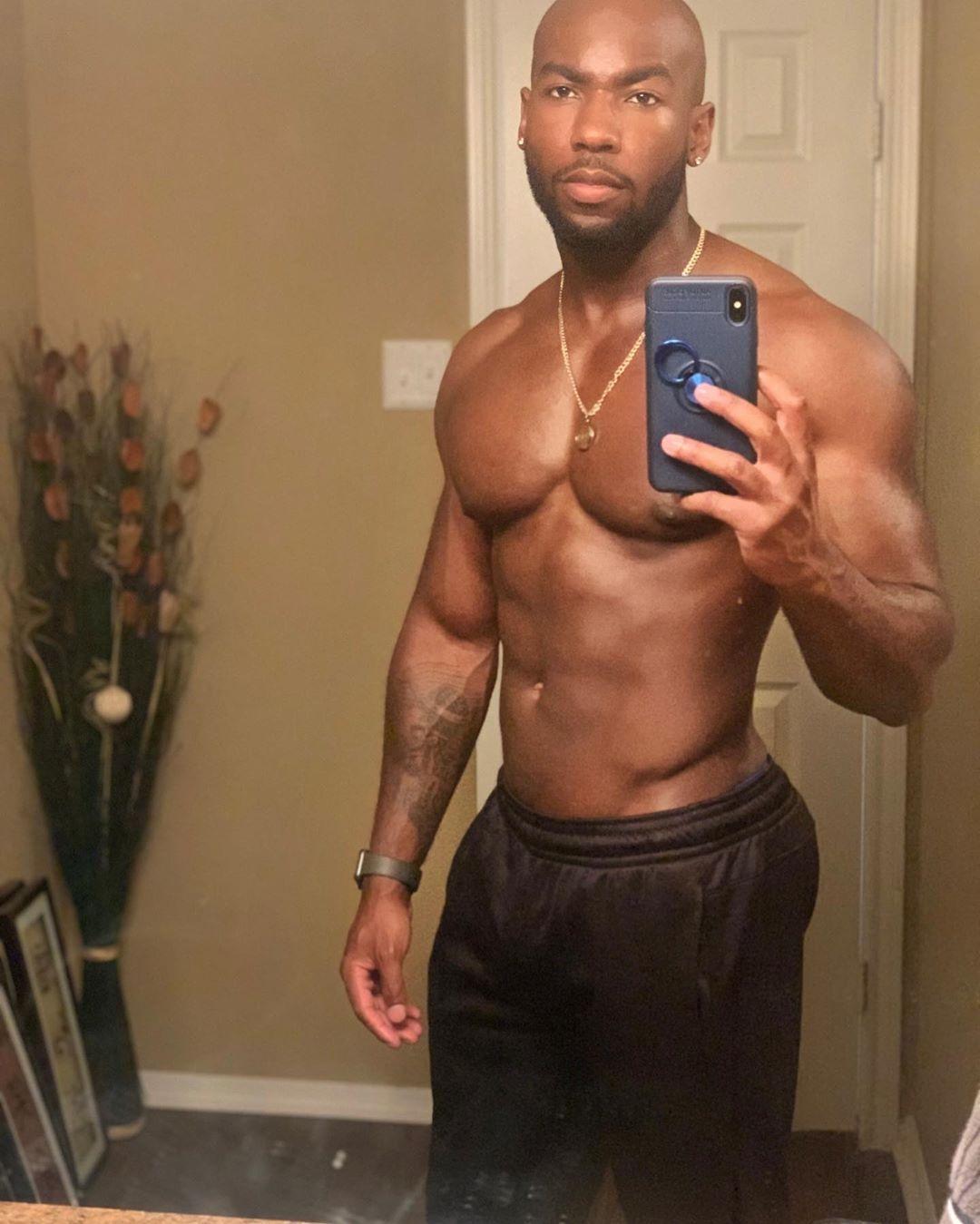Muscle Man Hideaway: Amerigo Jackson