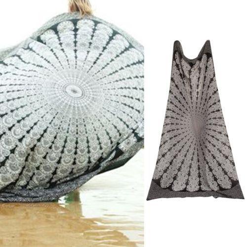 Hippie-Round-Mandala-Tapestry-Indian-Wall-Hanging-Beach-Throw-Towel-Yoga-Mat-Hot