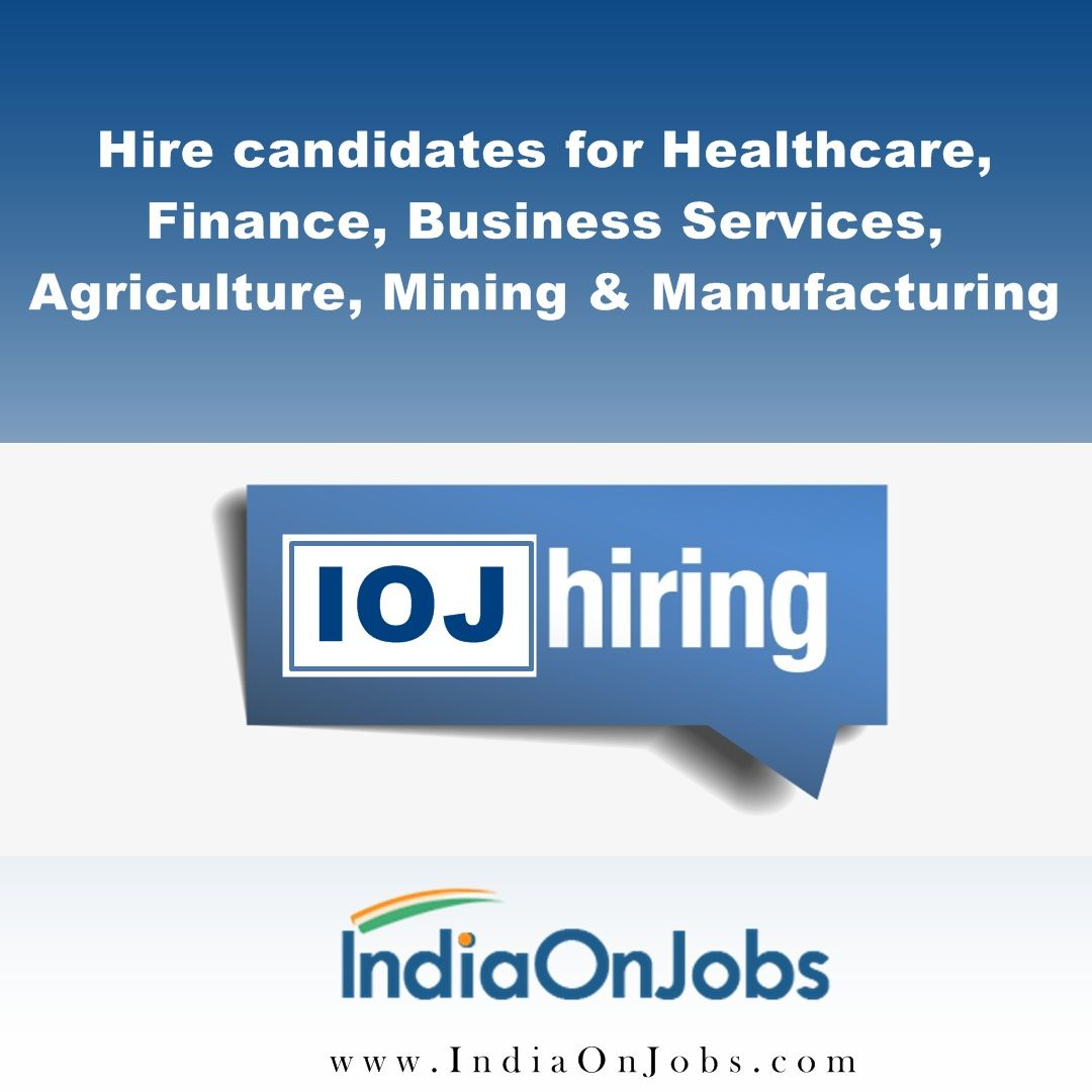 IndiaOnJobs provide daily updated candidate Job opening