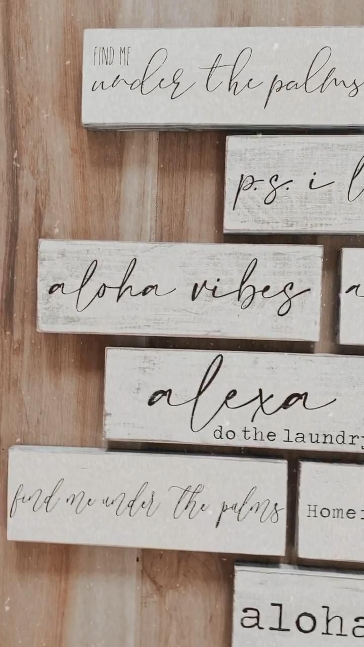 20 home decor signs quote ideas