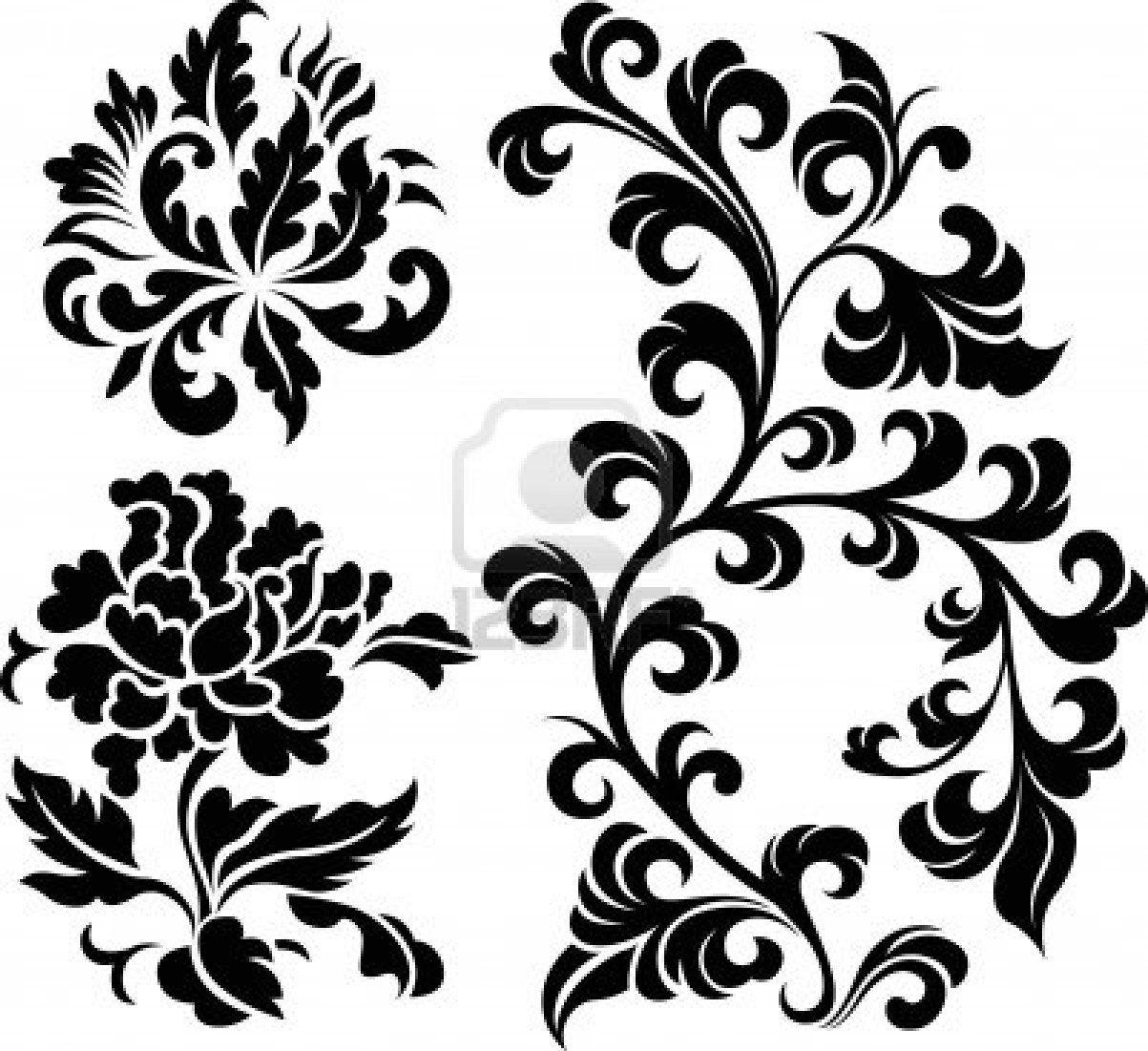 oriental flower design patterns and motifs 1 pinterest