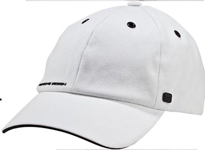 best service 62de8 28c0a Porsche Design Sport by adidas P 5000 Pro Stretch Cap Hat White BNWT